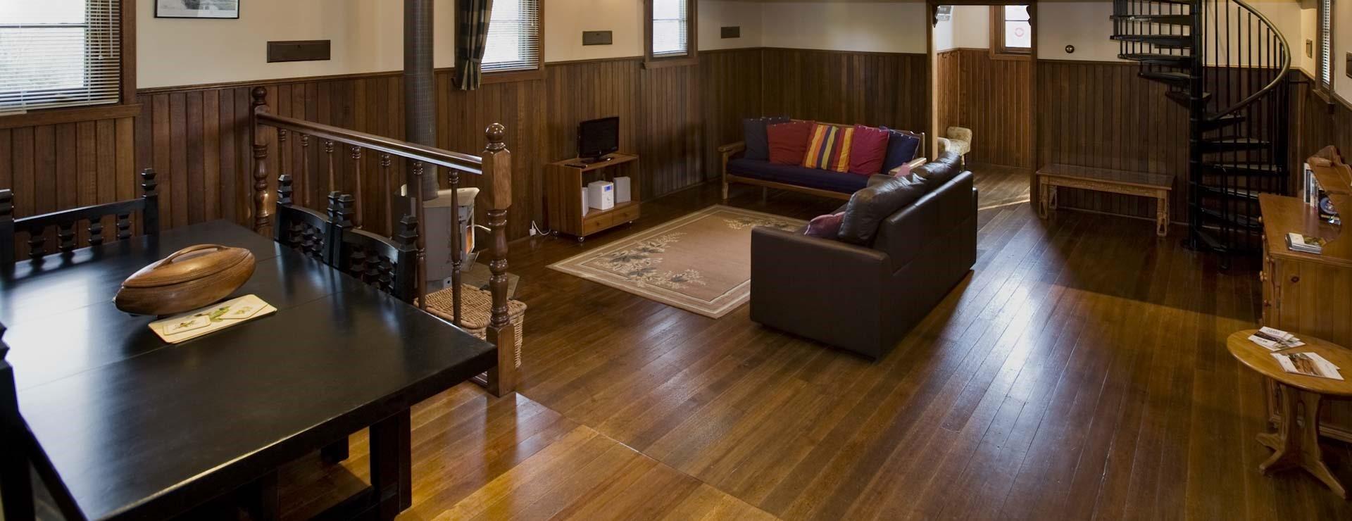 Interior Deck and Floor Restoration